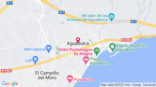 Captivating 2-bed Apartment in Aguadulce Map