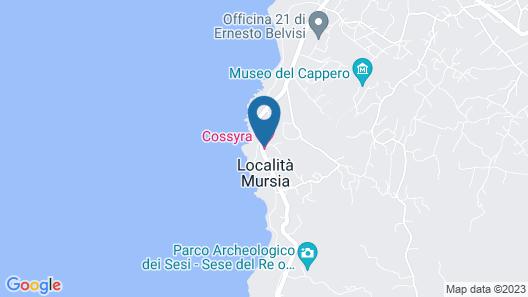 Cossyra Hotel Map