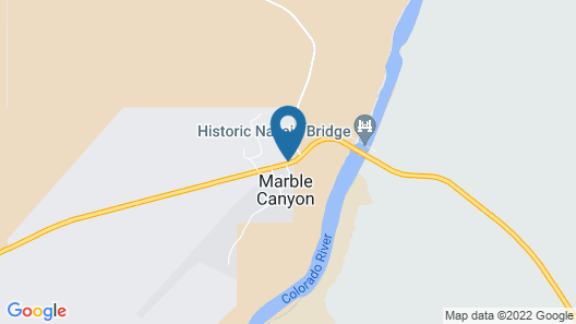 Marble Canyon Lodge Map