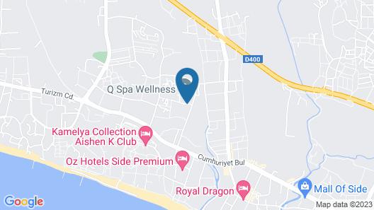 Q Spa Resort Map