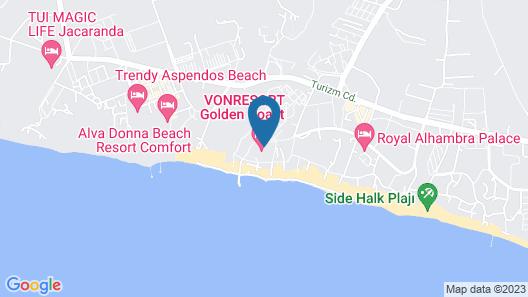 Nergos Garden Hotel - All Inclusive Map