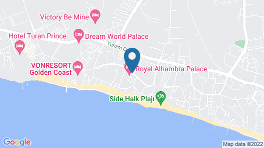 Royal Alhambra Palace – All Inclusive Map