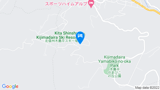 Hotel Chene Kijimadaira Map