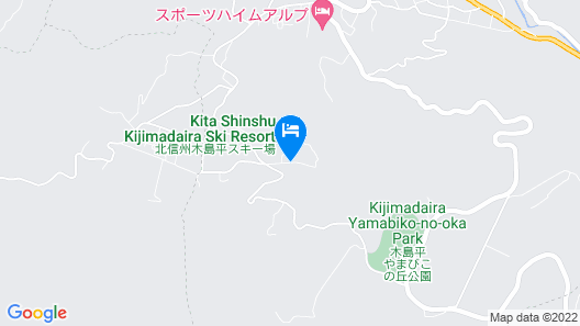 HOTEL RADIANT Map