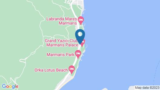Grand Yazici Marmaris Palace - All Inclusive Map