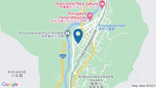 Rakuten STAY MOTEL Nikko Kinugawa Map