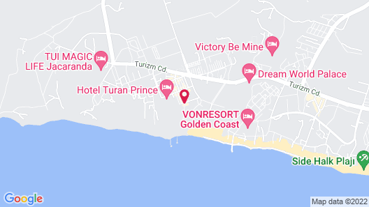 Royal Atlantis Spa & Resort - All Inclusive Map