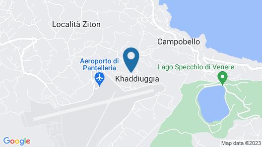 Horizon Pantelleria Map