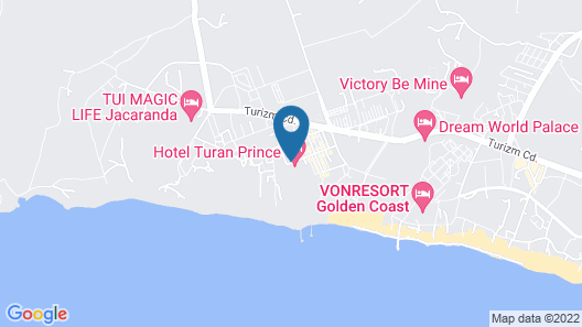 Hotel Turan Prince - All Inclusive Map