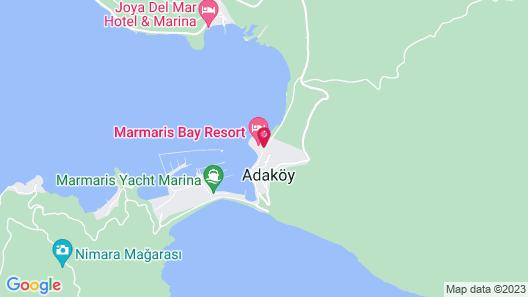 Marmaris Bay Resort Map