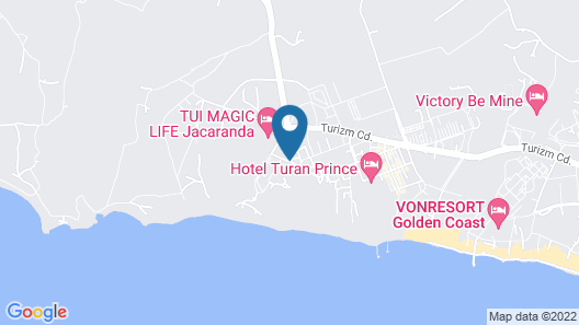 Side Star Resort - All Inclusive Map