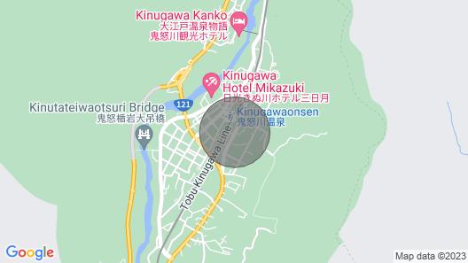 Kinugawa Station Front Building B / Nikko Tochigi Map