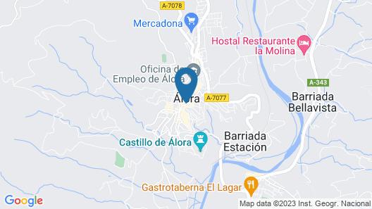 Hotel Don Pero Map
