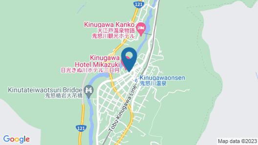 Kinugawa Onsen Nikko Kinugawa Hotel Mikazuki Map