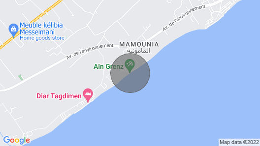 AirBetter - Fabulous Stay at Dar Gino Kélibia - Triple Map