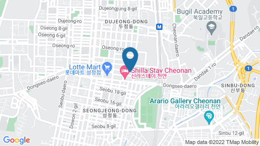 Brown Dot Hotel Cheonan Map