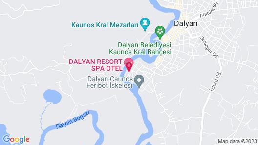Dalyan Resort SPA - Boutique Class Map