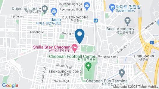 Hotel Soseol Smith Map