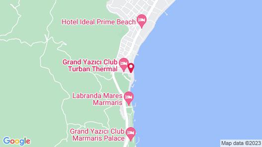 Heaven Beach Otel Map