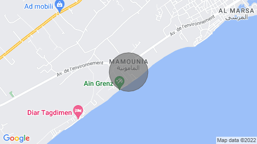 Airbetter - Luxurious Sea View One Bedroom Apartments Kelibia Map
