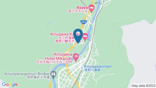 Hoshino Resorts KAI Kinugawa Map