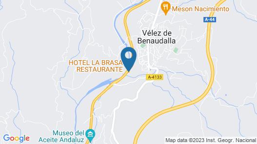 Hotel La Brasa Map