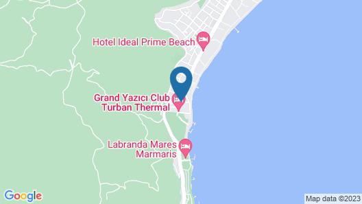 Casa De Maris Spa & Resort Hotel - All Inclusive Map