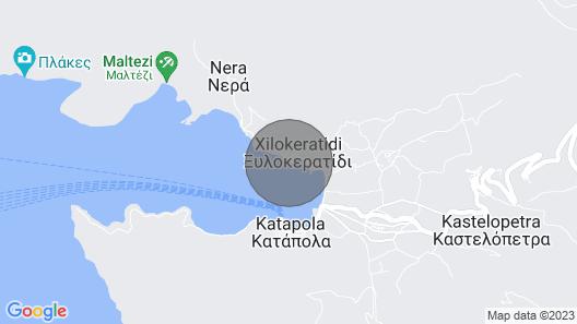 Amorgis  Seaside Villa Map