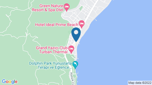 Cettia Beach Resort - Adults Only Map