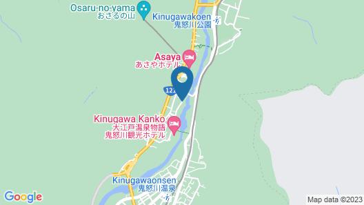 Kinugawa Plaza Hotel Map