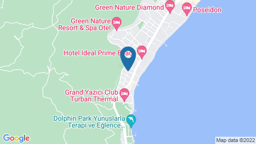 Ideal Piccolo Hotel - All Inclusive - Adults Only Map