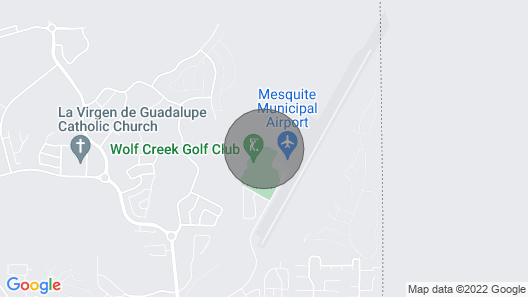 Beautiful Dual Master Condo Overlooking Wolf Creek Golf Course Map