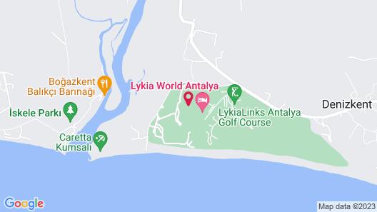 Lykia World Antalya Map