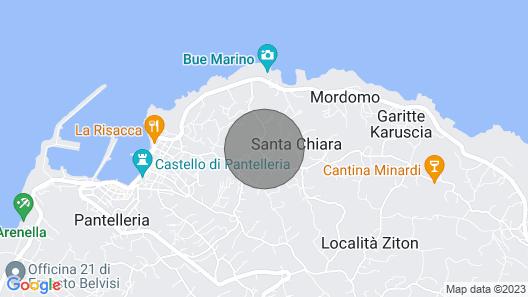 Dammuso Tramondo CON Aria Condizionata Map