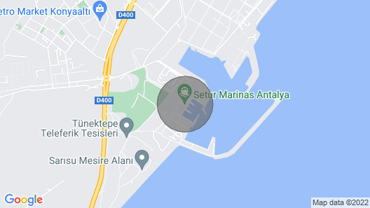 Seal Motor Yacht Available for day & Multiday Rentals in Antalya Map