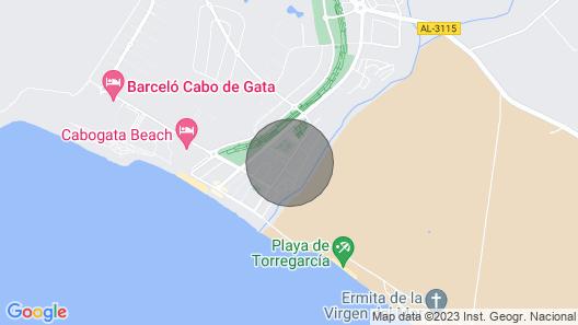 Spectacular and modern house Cabo de Gata - Retamar Map