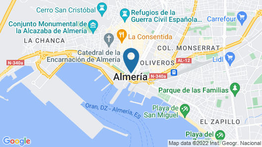 Gran Hotel Almeria Map