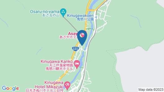Kinugawa Onsen Hotel Map