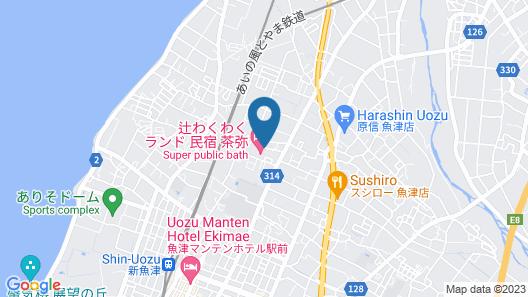 Tuji Wakuwaku Land Minshuku Chaya Map