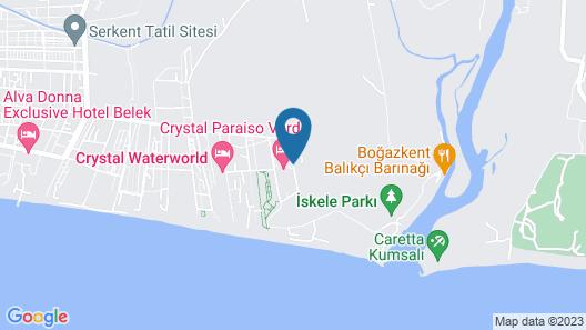 Crystal Paraiso Verde Resort & Spa - All Inclusive Map