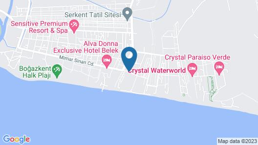 Siam Elegance Hotels & Spa - All Inclusive Map