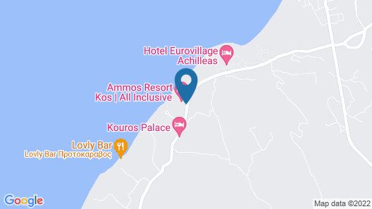 Ammos Resort - All Inclusive Map