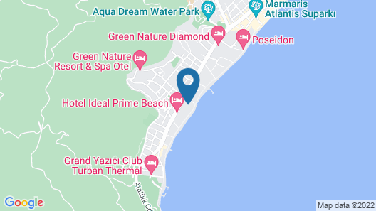 Pasa Beach Hotel - All Inclusive Map