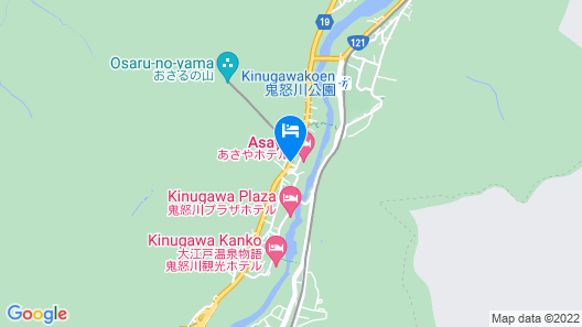 Asaya Hotel Map