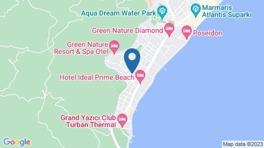 Blue Paradise Apart Map