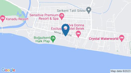 Sensitive Premium Resort & Spa - All Inclusive Map