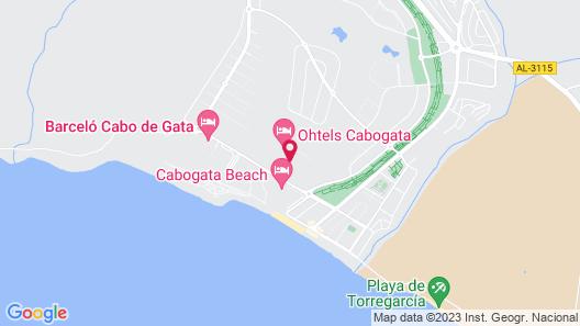 Hotel Cabo de Gata Map