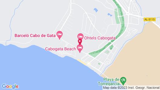 Ohtels Cabogata Map