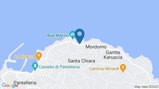 Hotel Bue Marino Map