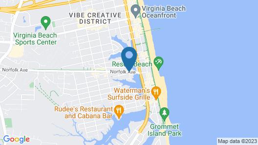 White Marlin Inn Map
